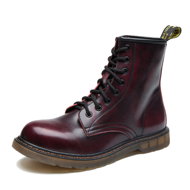 36-46 çizmeler erkekler sonbahar hakiki deri deri marka rahat kauçuk erkek botları # MXZ810829
