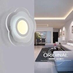 Proste Art nowoczesne oprawy oświetleniowe LED ścienne dla domu oświetlenie zintegrowane kinkiety ścienne lampy lampki nocne ściany lampora Pared