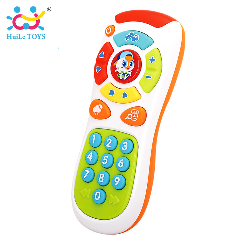 HUILE-TOYS-3113-Baby-Toys-Electric-Click-Count-Remote-with-Light-Music-Kids-Early-Learning-Educational-Toys-for-Toddler-Gift-4