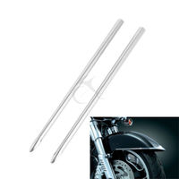 Front Fender Spear Trim For Harley Touring Electra Glide Softail Heritage Classic FLSTC