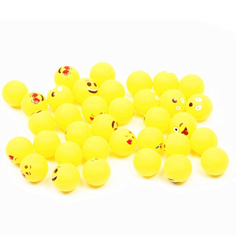 100 Assored emoji beer pong balls 3
