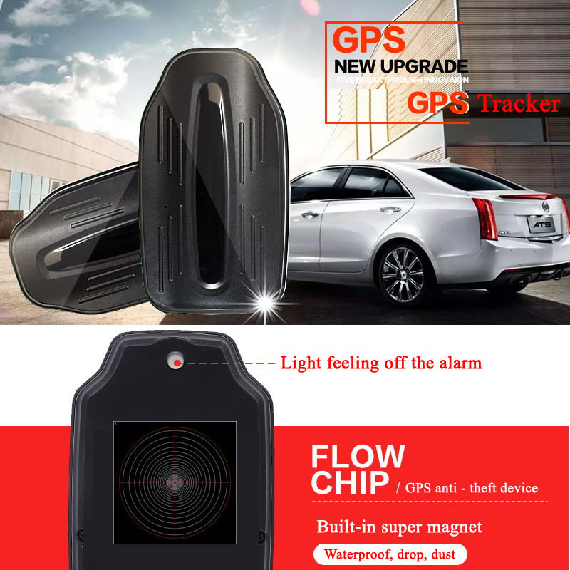 JSA Car GPS Tracker 12000mAh Battery Magnet Waterproof IP65 Vehicle Locator Realtime Car GSM GPRS Alarm system Tracking Device купить недорого в Москве