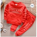 2017 Fall Autumn  Boys Girls kids Clothing Set  sports Suit children Long Sleeve Casual clothes