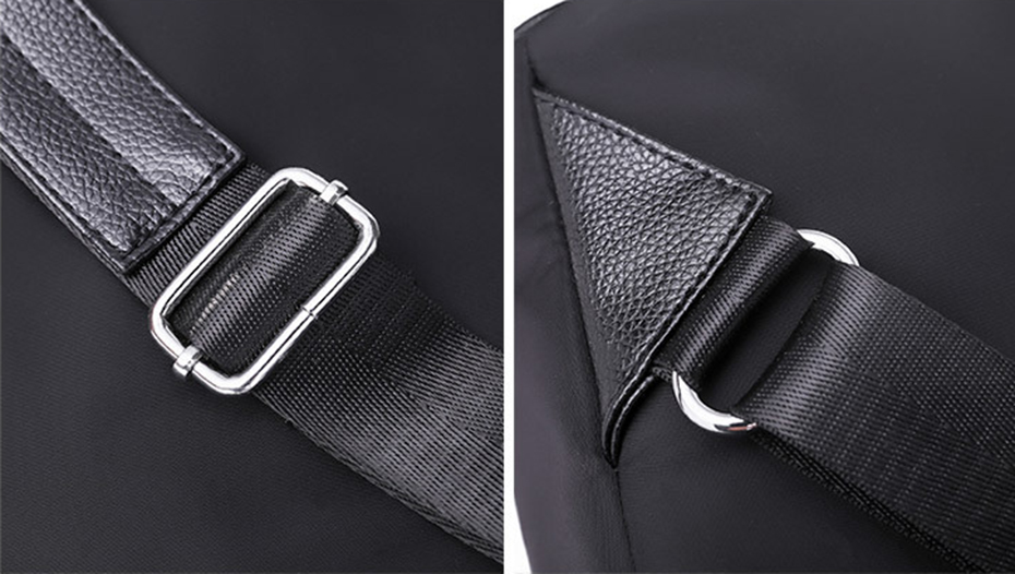 HTB1mNE3J29TBuNjy0Fcq6zeiFXaP Women Backpack School Bags For Teenager Girls Nylon Zipper Lock Design Black Femme Mochila Female Backpack Fashion Sac A Dos