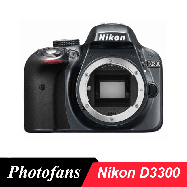 Nikon Câmera DSLR D3300-24.2 MP-1080 P Vídeo-Low Pass Filter (Novo)