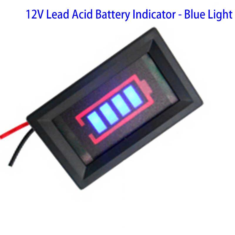 バッテリーゲージ車容量モニターパネルステータスインジケータ 12V 24V 36V 液晶デジタルバッテリーテスターのためのユニバーサル自動車車の車両