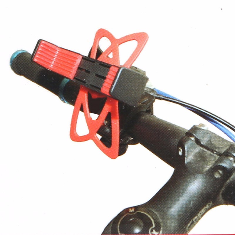 Handlebar Mobile Phone Mount with Strap - without phone