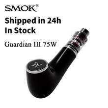เดิมEบุหรี่อิเล็กทรอนิกส์SMOKการ์เดียนE-pipe III 3ชุดยาสูบท่อVaporizer Vape 75วัตต์อิเล็กทรอนิกส์มอระกู่ไมโครTFV4