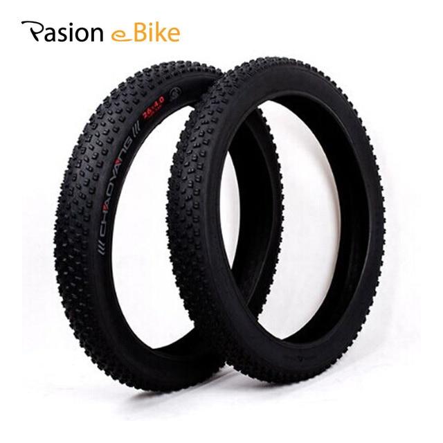 PASION E велосипед 26x4,0 ''широкие покрышки для велосипеда s для Чаоян одна пара 26 дюймов широкие покрышки для велосипеда для Sondors электровелосипедов шин