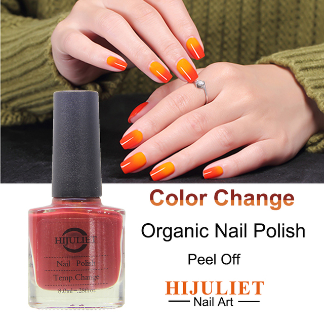 8ml Non Toxic Beautiful Colors Adult And Kids Use Color Changing