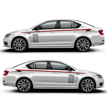 TAIYAO car styling sport sticker For Skoda SPORT Octavia Mark Levinson accessories and decals auto