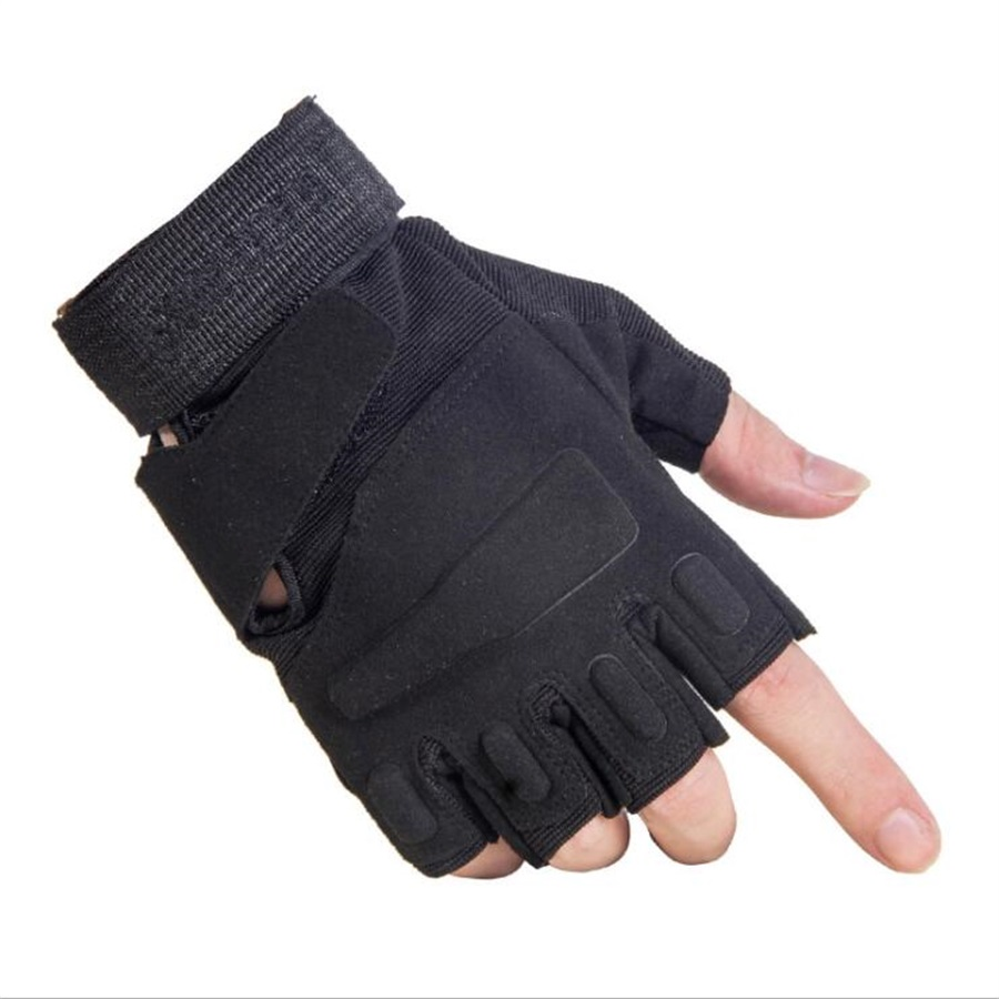 2018 Half Finger full Gloves Women Men Gloves For outdoor Tactical Military Exercise Training Sports Moto Ridding Cycling Gloves oumily the second generation outdoor tactical half finger gloves gray black size xl pair