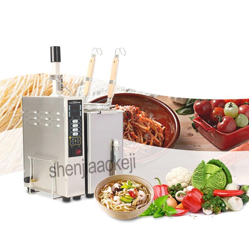 Ev Aletleri'ten Mutfak Robotları'de 1 adet Ticari Masaüstü Elektrikli Sıcak Şehriye Çorbası Dize Mala Tang Makinesi Paslanmaz Çelik Çok fonksiyonlu Çorba erişte makinesi 220 v title=