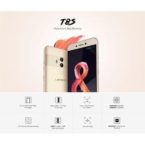 Image 5 - LEAGOO T8s נייד טלפון RAM 4 GB ROM 32 GB 5.5 אינץ FHD אנדרואיד 8.1 MT6750T אוקטה Core פנים מזהה 13MP OTG GPS Dual SIM 4G טלפונים חכמים