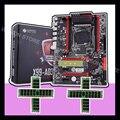 Placa base de descuento de marca huananthi X99 LGA2011-3 con placa base de ranura m2 NVMe con RAM 64G (4*16G) memoria del servidor ECC de 1866