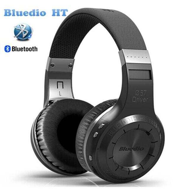 Bluedio HT inalámbrico Bluetooth 4.1 auriculares estéreo para auriculares construidos-en Mic de manos libres para llamadas y música Auriculares Caja original