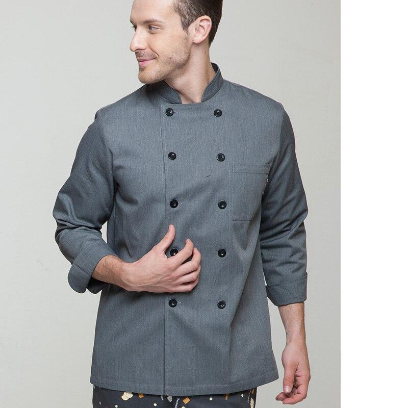 Compra chef abrigos online al por mayor de China