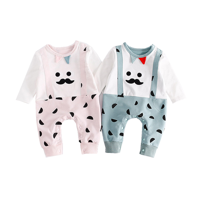 Newborn Rompers Baby Boy Girl Clothes Cute Cartoon Long Sleeve Baby Costumes For Babies Jumpsuit Bebes Infantil Autumn Clothing newborn baby rompers baby clothing set fashion cartoon infant jumpsuit long sleeve girl boys rompers costumes baby rompe fz044 2