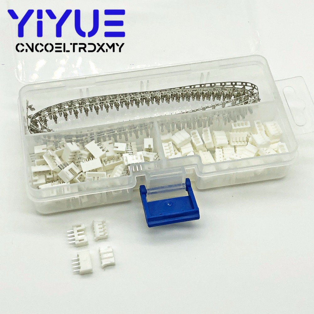 Mini 3 Pin Male Connector Housing with Pins 2.0mm Pitch 5 Pack