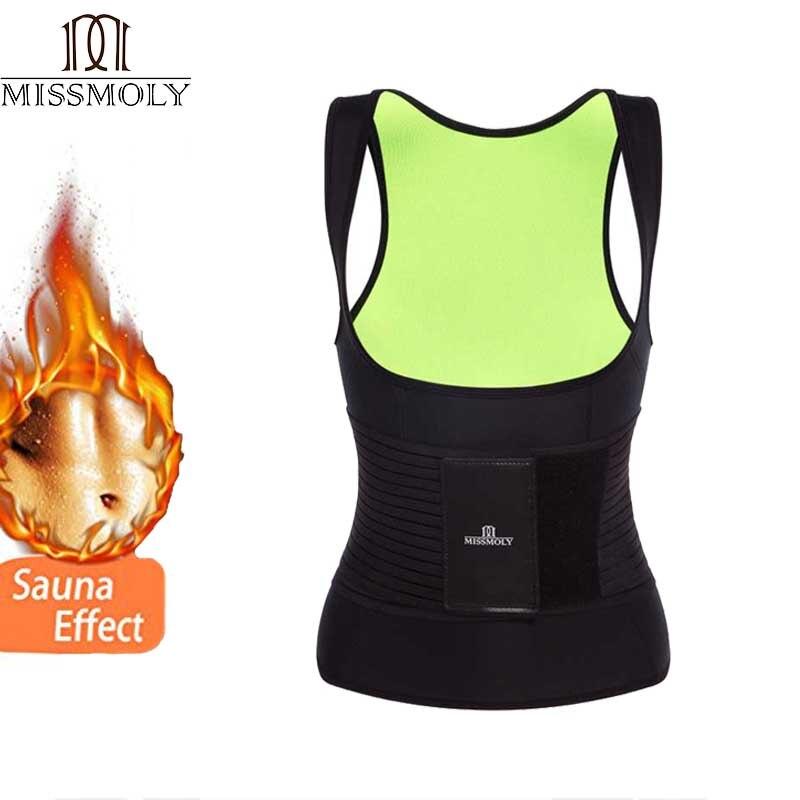 Miss Moly Shapers Tummy Control Sheath Slimming Waist Trainer Vest Neoprene Body Shaper Modeling Strap Lingerie Shaperwear