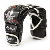 1 זוג אדם החדש לנשים להילחם כפפות אגרוף כפפות חצי אצבע מגן Boxeo שק חול Sanda קראטה MMA אגרוף תאילנדי בעיטת אגרוף
