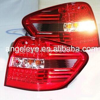 Для MERCEDES-BENZ M-CLASS W164 задний фонарь BZ089-BUDE2 красный прозрачные линзы 2006-2013 год