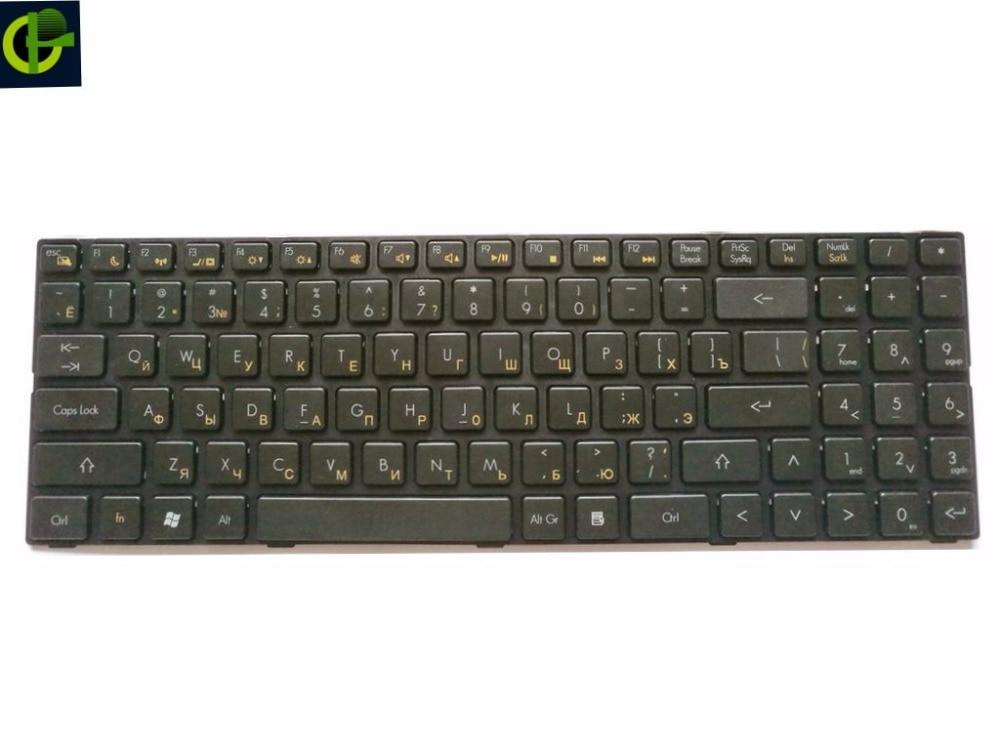 Clavier russe pour DNS twc-n13p-gs 0165295 0155959 0158645 MP-09R63RU-920 AETWCU0010 RU Noir clavier