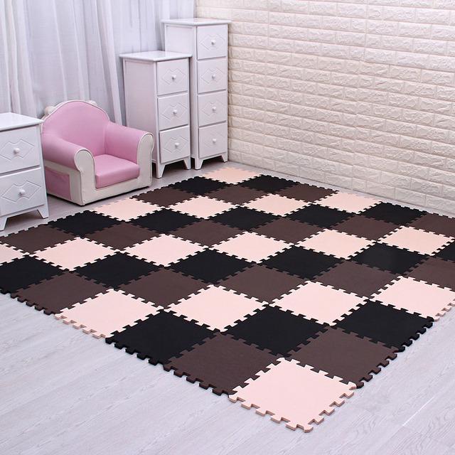 mei qi cool baby EVA Foam Play Puzzle Mat for kids Interlocking Exercise Tiles Floor Carpet Rug,Each 29X29cm18 24/ 30pcs playmat