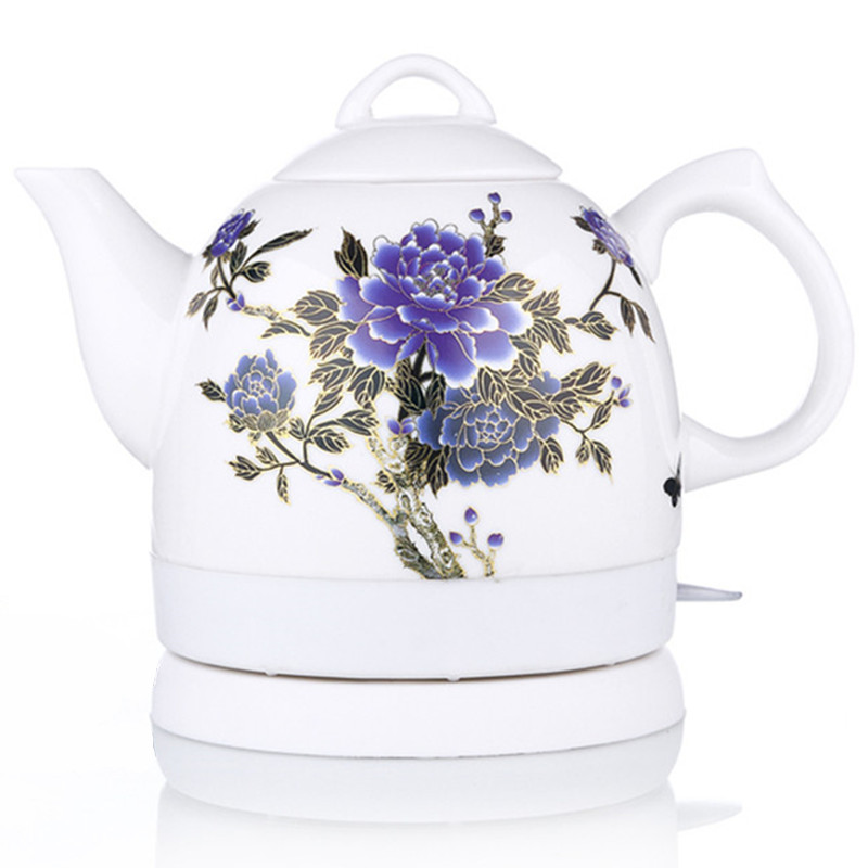 Electric Kettle Ceramic Electric Is Used To Make Tea In The