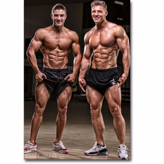 J1790 Steve Cook Fitness Physique Models Bodybuilding Pop