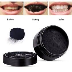 Лидер продаж 30 г активированный Charcoals порошок Bamboo Зубная щетка из древесного угля отбеливание зубов натуральный органический зубная паста
