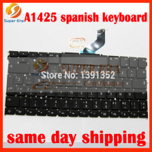 "A1425 SP Spain Spanish keyboard for macbook pro retina 13"" A1425 SP keyboard without backlight backlit late 2012 early 2013year"