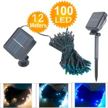 Solar Lamps Power LED String Garlands Lights Solar Garden Christmas Lights Holiday Outdoor Fairy Lights Waterproof Decoration