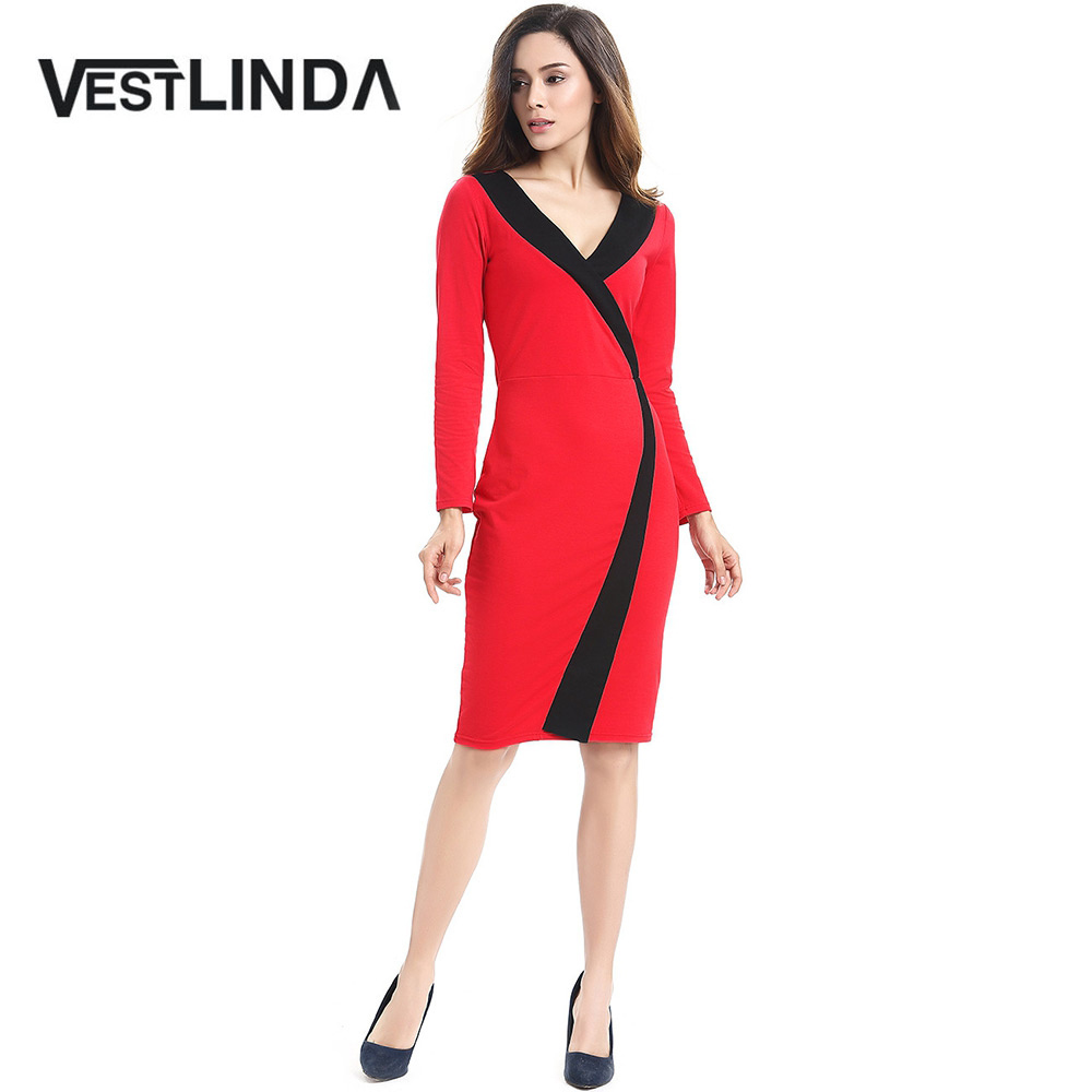 Popular Long Sleeve Bodycon Dress Plus Size-Buy Cheap Long Sleeve ...