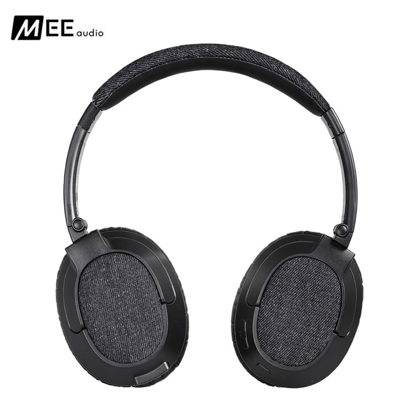 MEE Audio MATRIX3 AF68 Stereo Wireless Bluetooth Headphone With Mic Noise Cancelling Over-Ear Headset for Iphone Samsung PK QC25 mee audio matrix3 af68 stereo wireless bluetooth headphones with microphone active noise cancelling headset headphone for phone