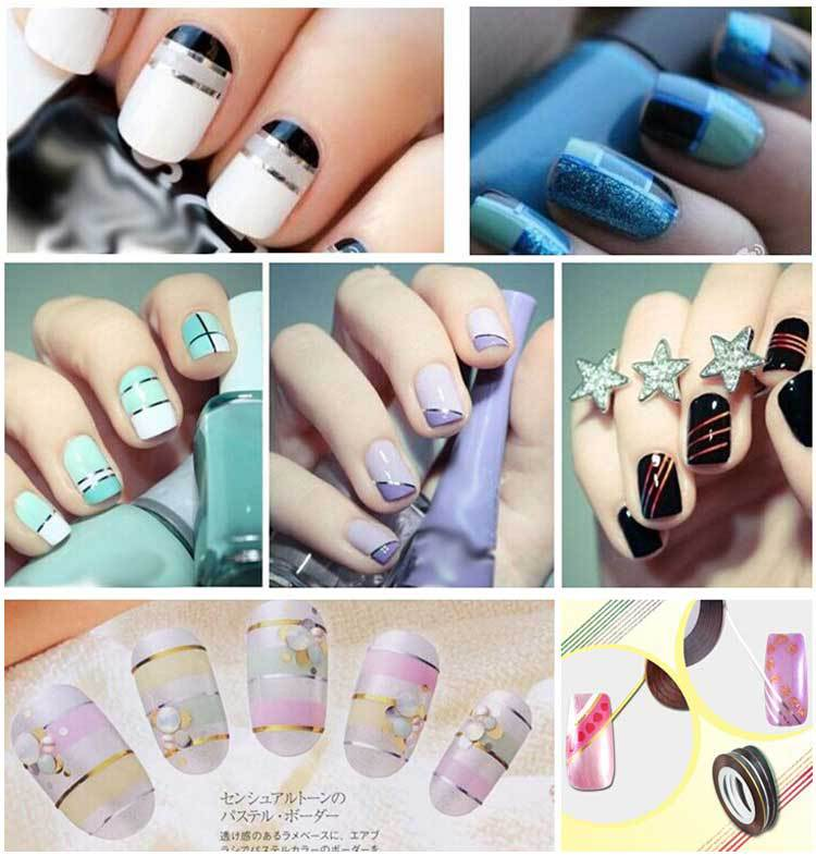 10pcs mixed colorful beauty rolls striping decals foil tips tape 10pcs mixed colorful beauty rolls striping decals foil tips tape line diy design nail art stickers for nail tools decorations in stickers decals from prinsesfo Choice Image