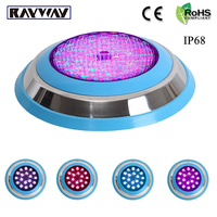 LED Swimming Pool Light 54W AC 12V RGB IP68 LED Remote Control Underwater Lamp Outdoor Lighting