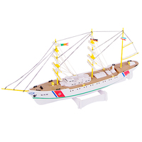 DIY Plastic 1:300 Model Endeavour Electric Training Sailing Ship Assembly Model AB02101