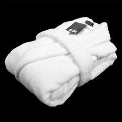 Хлопковый мужской банный халат, очень толстый мужской халат с длинным рукавом, плюшевая шаль, модное кимоно, теплый мужской зимний банный Ха...