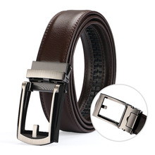 2019 Mens Fashion Designer Popular Belt Leather Casual Luxury Business Male Belts Automatic Buckle Men Black Brown Belt 2019 mens fashion designer popular belt leather casual luxury business male belts automatic buckle men black brown belt