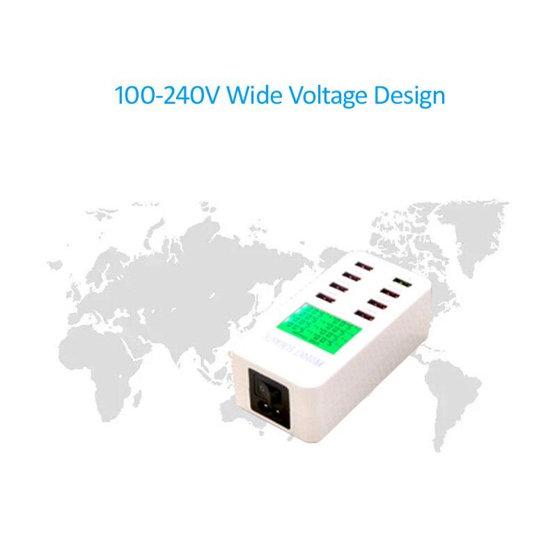 STOD Multi Port Smart USB зарядно устройство 35W - Резервни части и аксесоари за мобилни телефони - Снимка 5