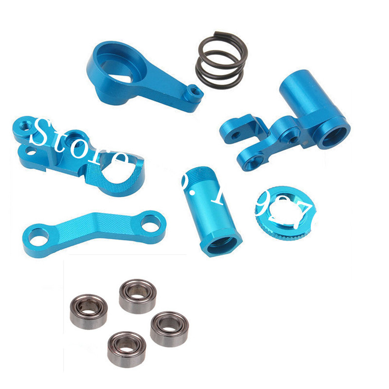 1/10 Traxxas Slash 4x4 Parts #6845X Anodized RC SLA008 Steering ...