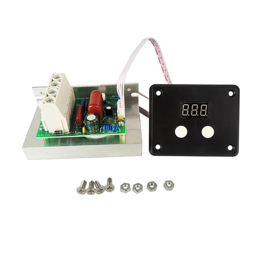 10000W AC 220V SCR Digital Voltage Regulator Speed Control Dimmer Thermostat stw