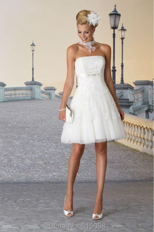 Popular Short Mini Wedding Dresses-Buy Cheap Short Mini Wedding ...