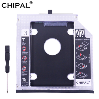 Алюминиевый переходник CHIPAL SATA iii для установки второго жесткого диска 12,7 мм для 2,5 дюймового твердотельного накопителя корпус для жесткого диска корпус для Lenovo ThinkPad T420 T430 T520 T530 ODD Корпус жесткого диска      АлиЭкспресс