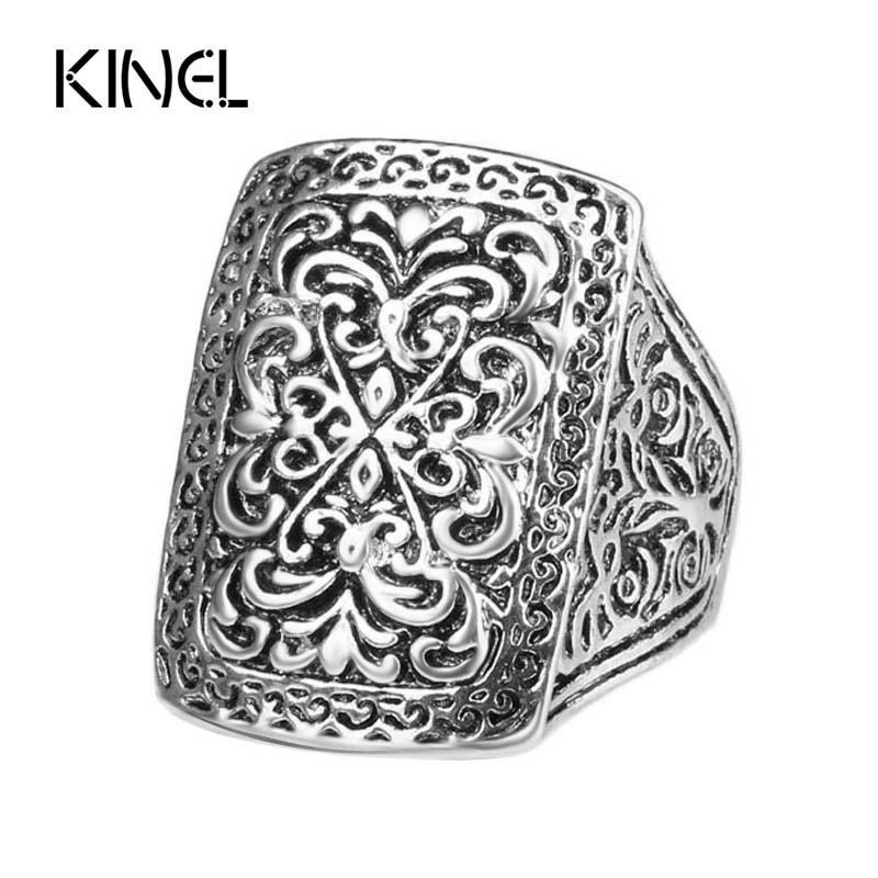 Antique Rings For Men Tibetan Silver