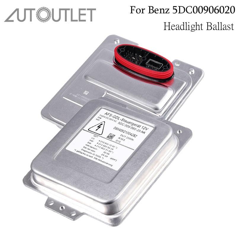 AUTOUTLET D1S Xenon HID Headlight Ballast FOR Mercedes Benz W212 C207 A207 5DC009060 20 5DC00906020 HID
