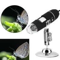 Mega Pixels 1000X 8 LED Digital Microscope USB Endoscope Camera Microscopio Magnifier Electronic Stereo Z P4PM Free Shipping New