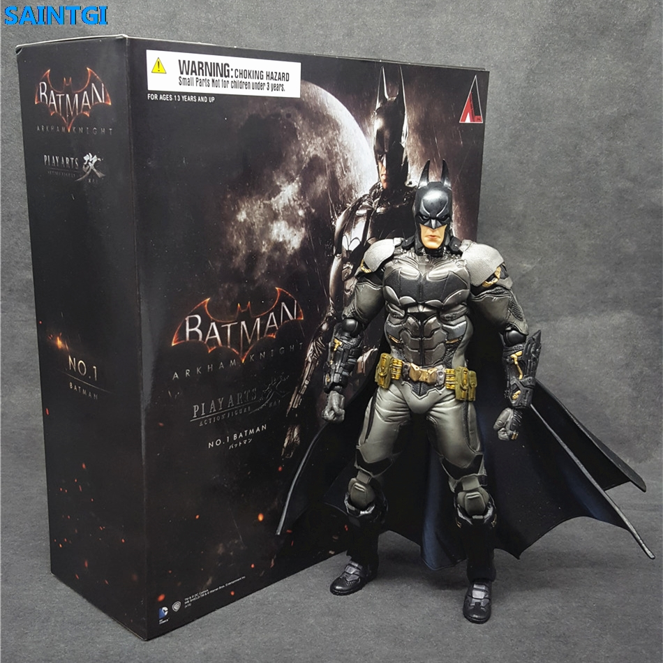 SAINTGI Batman v Superman Dawn of Justice Arkham Knight Batman Kai Doll DC Super Heroes PVC 22CM Action Figure Collection Model