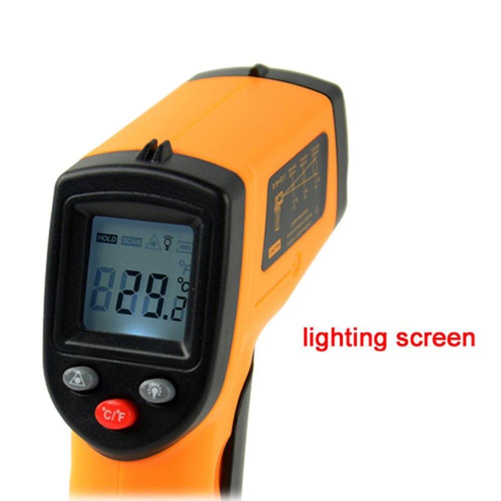Benetech GM320 Infrarot Thermometer Laser Pyrometer Messer -50 Bis 380 Centigrade Degree 93450
